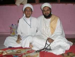 Penulis Bersama Syarif Ahmad Al-Hadi